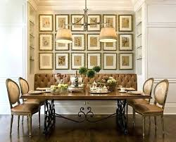 Dining Room Wall Ideas Extraordinary Best Dining Room Decorating Custom Decorating Small Dining Room