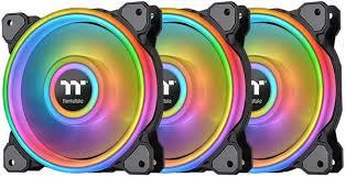 <b>Вентилятор</b> для корпуса <b>Thermaltake Riing Quad</b> 12 RGB Radiator ...