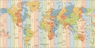 The World Time Zone Map