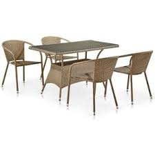 <b>Комплект мебели Afina garden</b> T198D/Y137B-W56 light brown ...