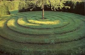 Mowing Patterns Beauteous Living Sculpture Website Template