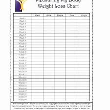 Weight Loss Tracker Spreadsheet Best Of Printable Weight