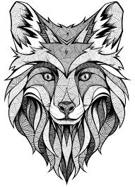 Free printable wolf coloring pages. Get This Wolf Coloring Pages For Adults Free Printable 31756