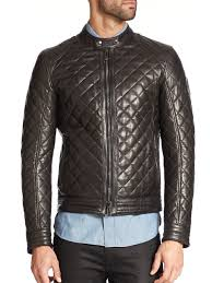 belstaff quilted leather jacket