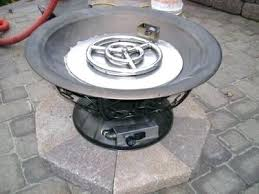 propane fire pit insert contemporary gas kit the decor pertaining to regarding 6