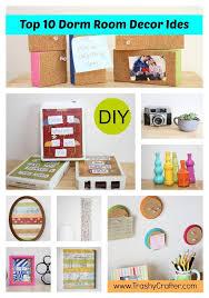 diy tutorial diy accessories top 10 dorm room decor ideas