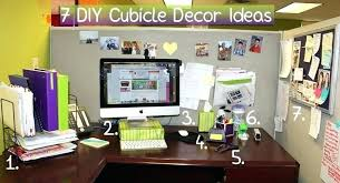 ideas for decorating office cubicle.  For Related Post Throughout Ideas For Decorating Office Cubicle