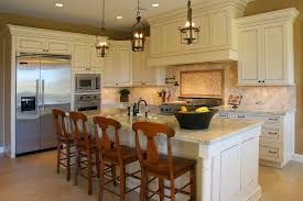 Colonial Cream Granite Kitchen Colonial White Kitchen Cabinets