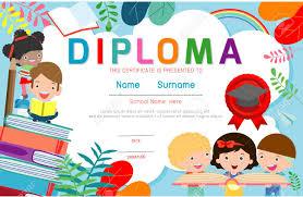 free preschool certificates certificates kindergarten and elementary preschool kids diploma