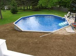salt water pool above ground. Interesting Above Backfill Above Ground Swimming Pool Google Search DeckPool  Saltwater  In Salt Water Pool Above Ground G