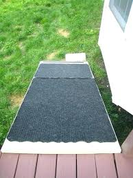 dog door ramp custom entry system with concealed outdoor for deck diy old ramps dogs side