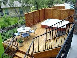 backyard deck privacy ideas deck privacy ideas deck privacy screen by small apartment balcony privacy ideas