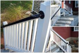 Porch Mounted Stair Railing