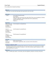 Resume Template Free For Mac Download Free Cv Templates Word Mac