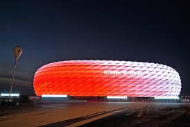 Bayern Munich Stadium Lights The Allianz Arena Got A Light Makeover For The New Season