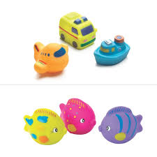 playgro bath ees 3 pack assorted