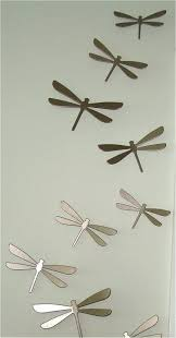 creative design dragonfly wall art interior decor home metal good luck imposing of