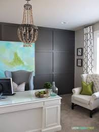 wall color for office. diy designer inspired art and frame office makeoverwall wall color for o