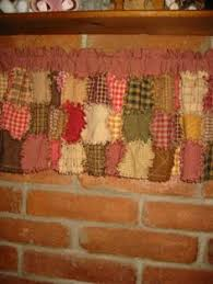 Rag Quilted Valance pattern ~ Cover your windows in this ... & Rag Quilted Valance pattern ~ Cover your windows in this wonderfully  primitive style. CUTE! Adamdwight.com