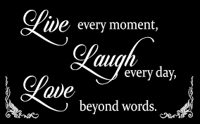 live laugh love quote canvas wall art