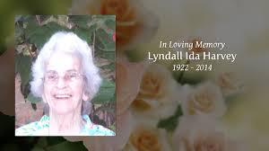 Lyndall Ida Harvey - Tribute Video
