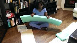 how to make a box cushion cover with velcro how to attach cushion bench seat ideas how to make a box cushion cover