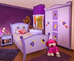 Purple Girls Bedrooms Very Attractive Kids Girl Bedroom Interior Ideas For Small Spaces