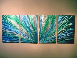 blue abstract wall art radiance blue green abstract metal wall art contemporary modern on blue abstract metal wall art with blue abstract wall art radiance blue green abstract metal wall art