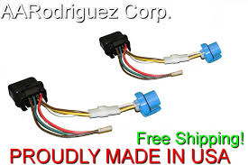 2) new complete internal headlight wiring harness 1999 2005 vw Aftermarket LED Headlights for Volvo at Volvo S40 Headlight Wiring Harness