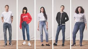 Levi S Misses Jeans Size Chart The Levis Spring 2019 Fit Guide Is Here Levi Strauss