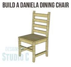 Build One Chair or Several with the Daniela Dining Chair Plans! I really  love this chair design and am considering building these for myself!