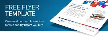 Free Flyer Templates Download Coastal Flyers