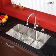 32 inch small radius style stainless steel under mount kitchen sink kur3218d in vancouver