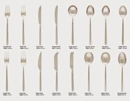 Type Of Spoons Dining Etiquette Cutlery FORKS Dining - Dining room etiquette