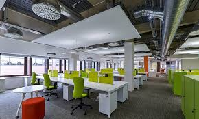 smart office design. Smart Buildings, Climate, Acoustics \u2013 An Evolution Through Design | Cundall Conversations Office