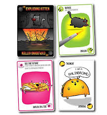 exploding kittens card game. Plain Game EXPLODING KITTENS ORIGINAL CARD GAME For Exploding Kittens Card Game T