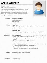 Simple Job Resume Example For Sample Blue Collar Jobs Written Land A
