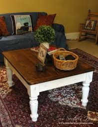 diy chalk paint furniture ideas with step by step tutorials chalk paint farmhouse coffee table chalk painting furniture ideas