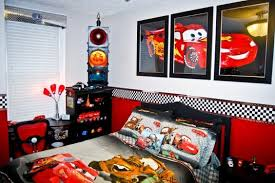 attractive car room decor kids room ideas picture of cars cartoon on the walls lamp