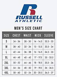 Punctilious Russell Athletic Baseball Jersey Size Chart