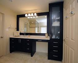 makeup vanity height. Contemporary Height Brilliant Sink Makeup Vanity Same Height Love The Drawers And With Regard  To Bathroom Counter Design 25 I