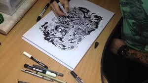 эскиз татуировки змея и череп Sketch Tattoo Snake And Skull тату студия Ink Art