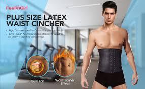 FeelinGirl Men's Tummy Control Steel Boned Waist ... - Amazon.com