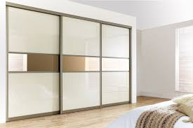 pearl white bronze sliding doors