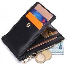 mens fashion short genuine leather wallet coin purse male money purses soft card holder case brief design wallets