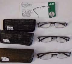 Design Optics Full Frame Flexible Plastic Design Optics 3 Pack 2 00 Reading Glasses Durable Flexible