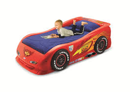 Piquant Kids In Little Tikes Lightning Mcqueen Roadster Toddler Bed Race  Car Bed With Toddlers in