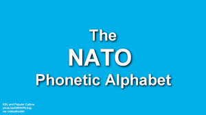 The nato (north atlantic treaty organization) phonetic alphabet is currently officially denoted as the international radiotelephony spelling alphabet (irsa) or the icao (international civil aviation organization) phonetic alphabet or itu (international telecommunication union) phonetic alphabet. Nato Phonetic Alphabet Gif On Imgur