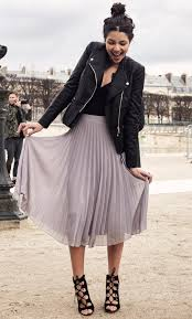 20 Style Tips On How To Wear A Pleated Skirt | Knives