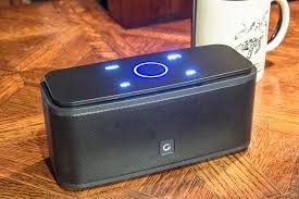 loud portable bluetooth speakers. budget pick: doss soundbox touch loud portable bluetooth speakers s